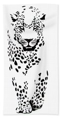 Leopard Bath Towel