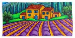 Les Couleurs De Provence Hand Towel