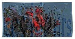 Les Fleurs Bath Towel
