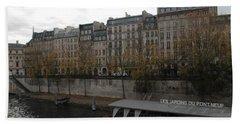 Les Jardins Du Pont Neuf Bath Towel