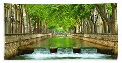 Les Quais De La Fontaine Nimes Bath Towel