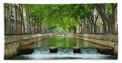 Les Quais De La Fontaine Bath Towel