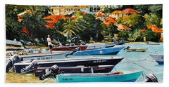 Les Saintes, French West Indies Hand Towel