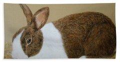 Les's Rabbit Hand Towel