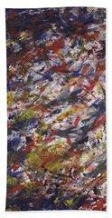 Let It Go - Panel 2 Of Triptych Bath Towel