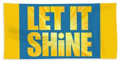 Let It Shine Sun Hand Towel