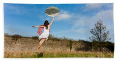 Let The Breeze Guide You Bath Towel by Semmick Photo