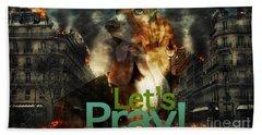 Let Us Pray Hand Towel