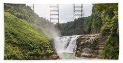 Letchworth Upper Falls Bath Towel