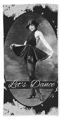 Lets Dance Hand Towel