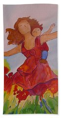 Let's Fly  Hand Towel by Gioia Albano