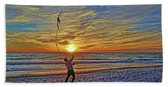 Let's Go Fly A Kite Hand Towel