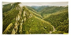 Leven Canyon Reserve Tasmania Hand Towel