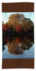 Lewis Ginter Fall Foliage Bath Towel