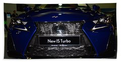 Lexus Is Turbo Bath Towel