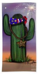 Liberty Cactus Hand Towel