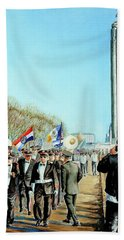 Liberty Memorial Kc Veterans Day 2001 Hand Towel