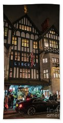 Liberty Of London Out Front Night Hand Towel by Mike Reid