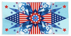 Liberty Quilt Hand Towel