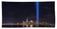 Liberty State Park Tribute In Light Bath Towel