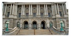 Library Of Congress Hand Towel