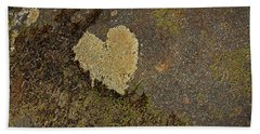 Bath Towel featuring the photograph Lichen Love by Mike Eingle