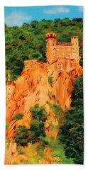 Lichtenstein Castle Hand Towel