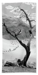 Bath Towel featuring the photograph Life In The Desert -  Arizona by Mike McGlothlen