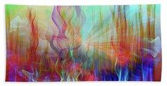 Bath Towel featuring the digital art Life Is A Beautiful Mystery by Linda Sannuti