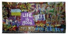Life Is Good Hand Towel
