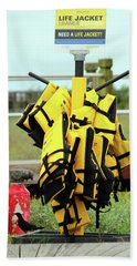 Life Jacket Station Bath Towel