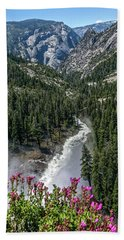 Life Line Of The Valley Bath Towel by Ryan Weddle