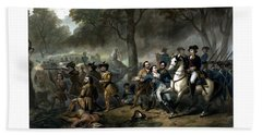 Life Of George Washington - The Soldier Hand Towel by War Is Hell Store