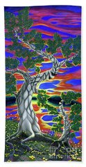 Life Of Trees Hand Towel