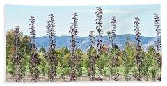 Life On A Tree Farm-foothills View #1 Bath Towel