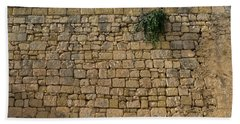 Life On Bare Rock - Up High On The Fortification Wall Bath Towel