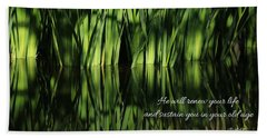 Bath Towel featuring the photograph Life Renewed by Lynn Hopwood