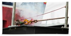 Lifeboat Chocks Away  Hand Towel by Terri Waters
