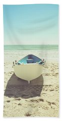 Lifeboat Bath Towel by Colleen Kammerer