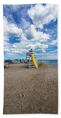 Lifeguard At Pike's Beach Bath Towel