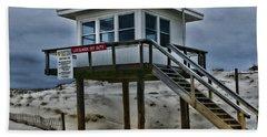 Lifeguard Station 2  Hand Towel by Paul Ward