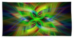 Light Abstract 1 Hand Towel