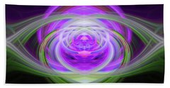 Light Abstract 3 Bath Towel
