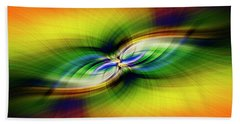 Light Abstract 9 Hand Towel
