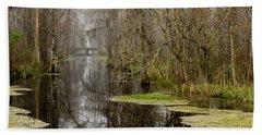 Light Fog On The Swamp Hand Towel