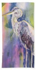 Light Of The Silvery Moon Hand Towel