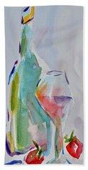 Light Snack Bath Towel by Beverley Harper Tinsley