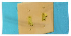 Light Switch Bath Towel