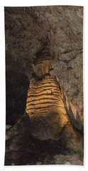 Lighted Stalagmite Hand Towel by James Gay