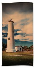 Lighthouse At Egmont Hand Towel